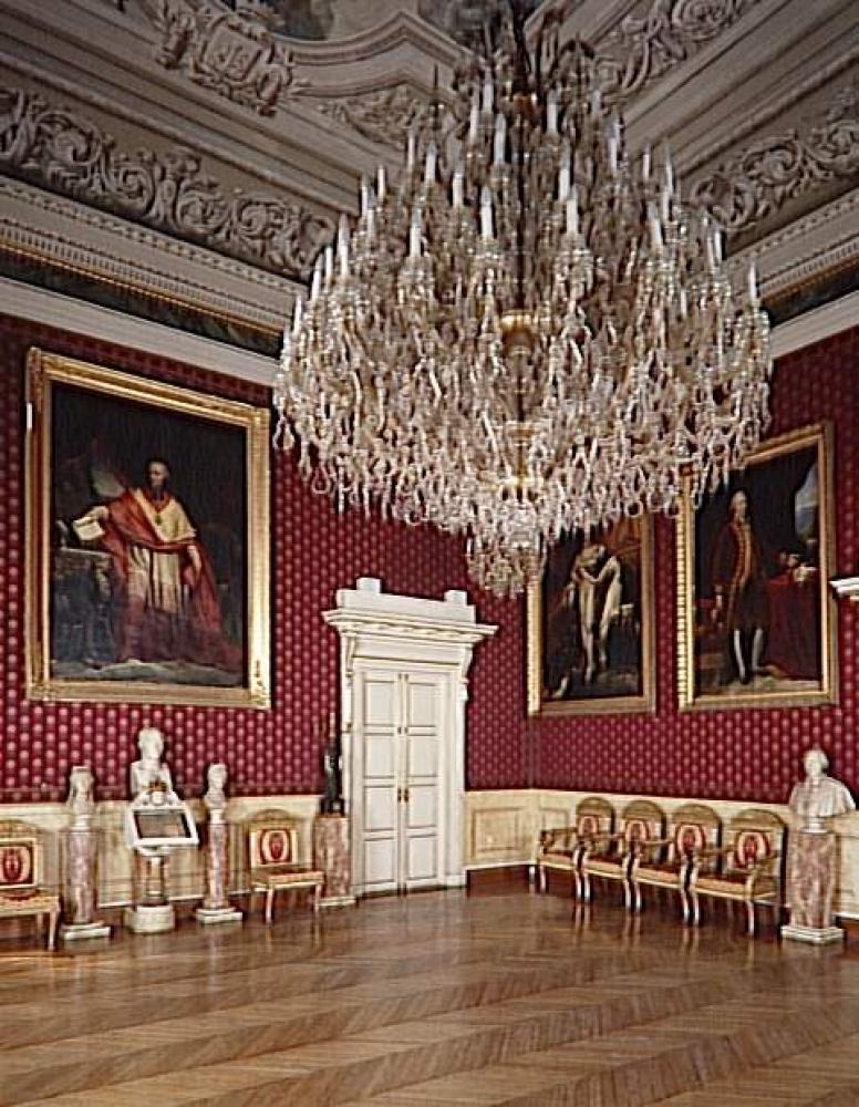 Bonesprit the napoleonic salon in the h tel de ville di for Mairie menetou salon